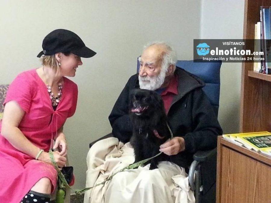 Existe un hospital que permite a las mascotas visitar a sus cuidadores. ¡Maravilloso!