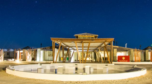 El primer hotel del mundo construido con sal