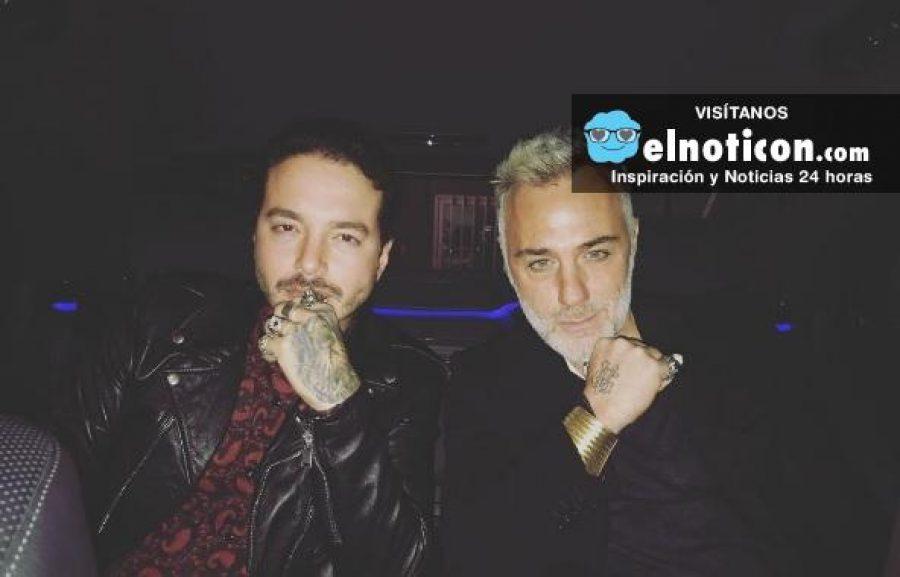 J Balvin y el magnate Gianluca Vacchi se divierten en las calles de Milán y hacen este vídeo
