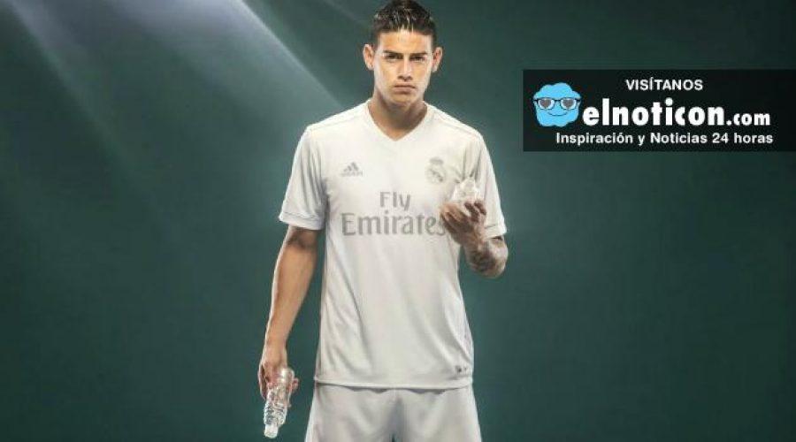 ¿Te gustó la nueva camiseta de James y del Real Madrid hecha con plástico del océano?