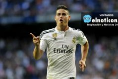James Rodríguez es el líder de asistencias en el Real Madrid