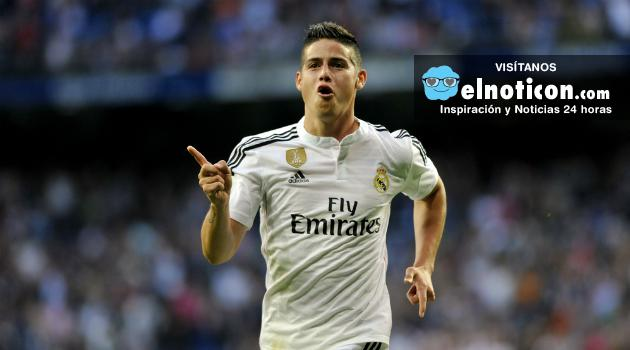 James y sus rumores de jugar en la Premier League en 2017
