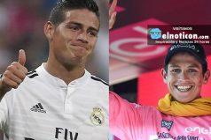 James Rodríguez es retado por Esteban Chaves, ¡humildad ante todo!