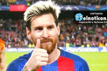 Messi salva a niños que sufren de cáncer en Barcelona. ¡Una gran obra!