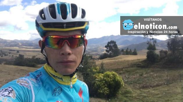 El ciclista Miguel Ángel López sufrió una fractura en su pierna derecha