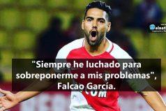 Falcao García trabaja fuertemente para recuperar su nivel