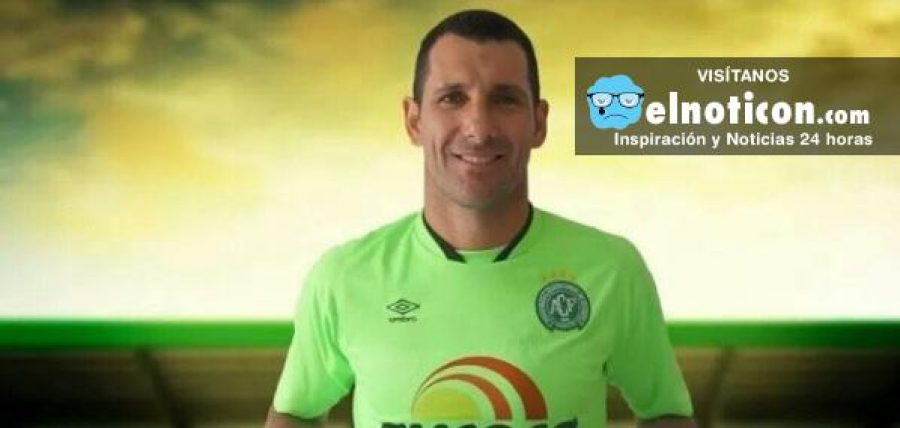 Nivaldo, el arquero que no viajó con el Chapecoense se retira del fútbol