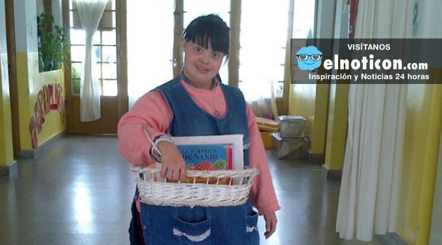 Noelia Garella, la primera profesora en Argentina con síndrome de Down