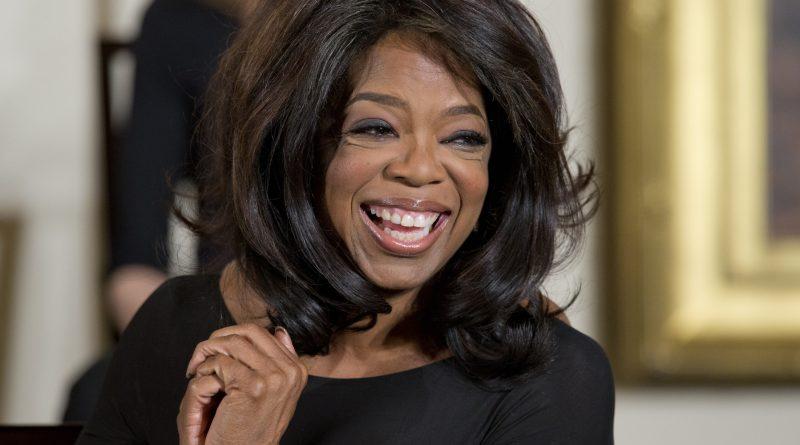 Oprah Winfrey smiles