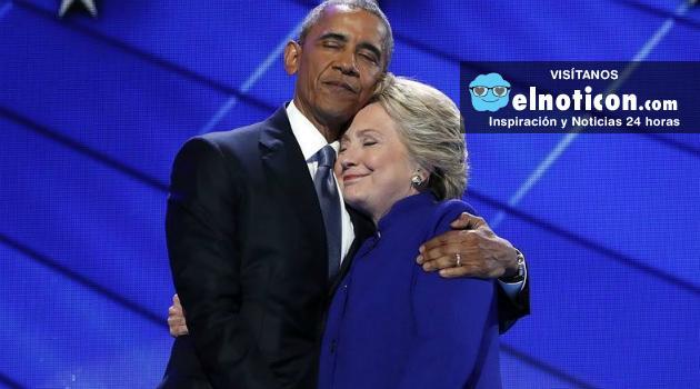 """Votar por Hillary es defender mi legado"" Barack Obama"