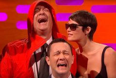 Tom Hanks recrea la famosa foto en la que le confunden con Bill Murray