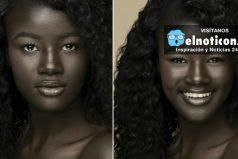 Esta mujer cautiva las redes sociales por su color de piel ¡Belleza natural!