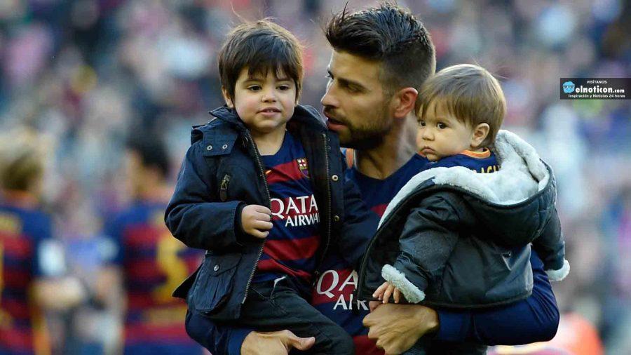 Los hijos de Shakira y Piqué no saben que sus papás son famosos