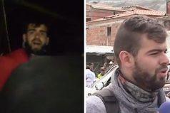 Este camarógrafo fue el primero en llegar a la zona de la tragedia. Y terminó salvando una vida