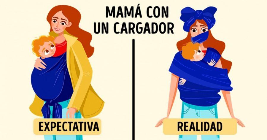 Ilustraciones que cada mamá entenderá