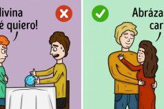 Ilustraciones que teayudarán aentender qué tan sana esturelación