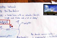 Hombre olvidó una dirección ydibujó unmapa enelsobre. ¡La carta llegó asudestino!