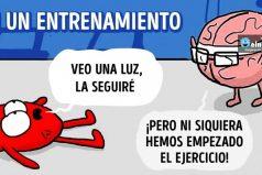 Cómics que reflejan lacontradicción entre elcorazón yelcerebro