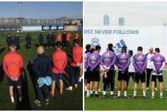 Barcelona y Real Madrid, unidos por la tragedia del equipo Chapecoense de Brasil