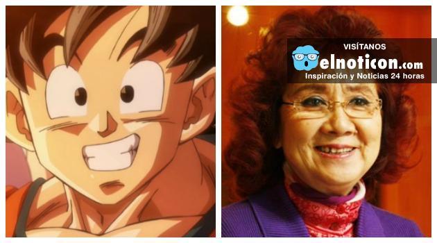 Esta mujer a sus 80 años sigue siendo la voz original de Goku, Gohan y Goten