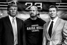 El día en que Donald Trump fue luchador libre de la WWE
