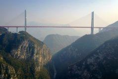 Inauguran el puente mas alto del mundo, ¡es impresionante!