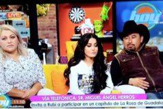Quiere Televisa que Ruby protagonice capítulo de La Rosa de Guadalupe