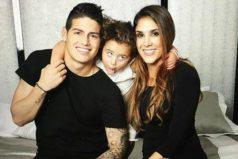 Daniela Ospina ama las tradiciones colombianas, ¡muy bien por la bella familia de James!