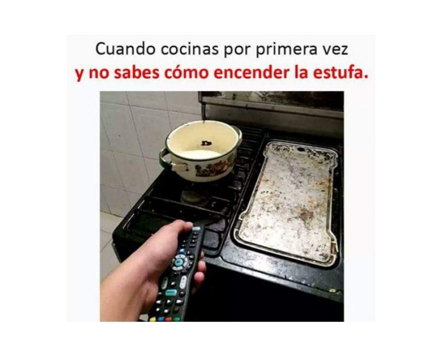 Cuándo cocinas por primera vez…