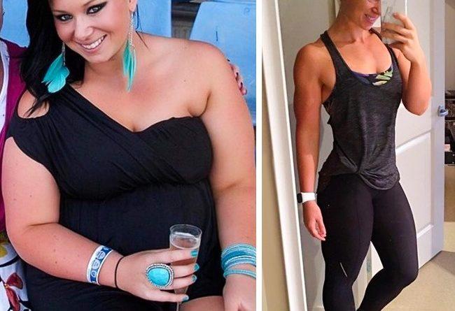 Mujer antes y después