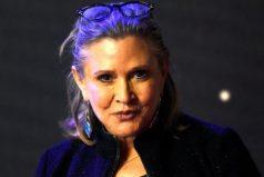 La actriz Carrie Fisher, la legendaria Princesa Leia de Star Wars, sufre un ataque al corazón en un avión