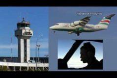 Este es el audio de la última comunicación entre la torre de control y el avión en el que viajaba Chapecoense