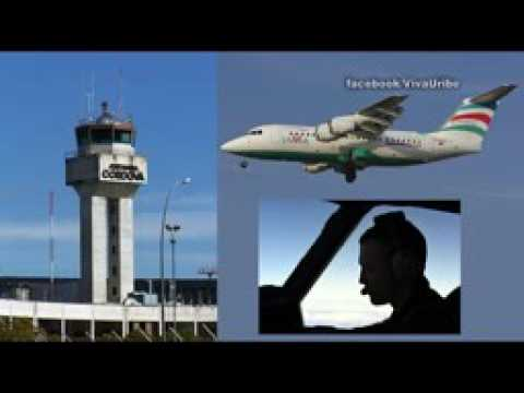 Audio-Original-Torre-de-Control-Air-Traffic-Control-Lamia-2933-Chapecoense-Medellin-Colombia