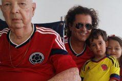El lindo mensaje de Carlos Vives para su padre, ¡que bello amor!