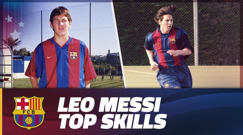 COMPILATION-Leo-Messi-top-skills-during-Barça-Youth-Academy