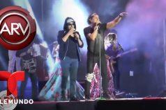 ¡Ay ombe, qué dolor! Carlos Vives se dio tremendo golpe en la rodilla durante un concierto en Bolivia, ¡Y siguió como si nada!