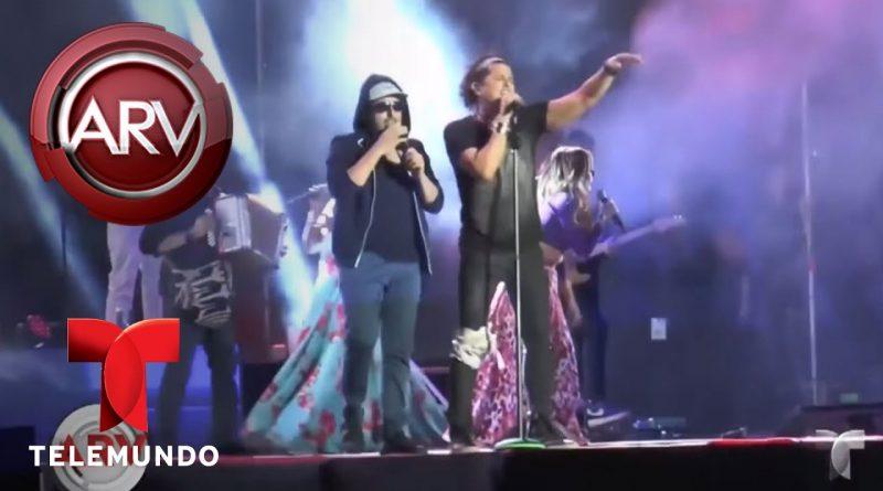 Carlos-Vives-sufre-una-caída-en-concierto-en-Bolivia-Al-Rojo-Vivo-Telemundo