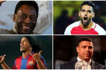 Los mejores jugadores de fútbol de toda la historia en Suramérica