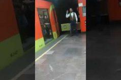 """""""Que Dios los lleve con bien a su destino"""": conductor del Metro en Ciudad de México. ¡Ojalá todos fueran así!"""