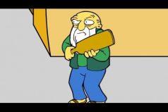 ¿Te gustaría ser como Homero Simpson? Entonces este juego te encantará. ¡Me quiero volver chango!
