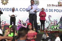 ¡Todo un Grinch! El gobernador de Nuevo León (México) revela la identidad de Santa Claus en un evento público. ¡A que no lo sabías!