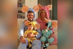 La dulce y tierna familia de Shakira