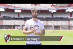 Fernando Cavenaghi le dice adiós al fútbol. ¡Toda una leyenda para River Plate!