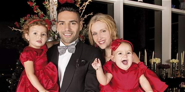 Falcao y familia