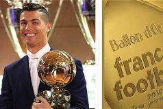 Cristiano Ronaldo ganó el Balón de Oro por cuarta vez, ¡felicitaciones!