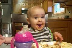 ¡Advertencia! La risa de esta niña es altamente contagiosa… y terrorificamente tierna