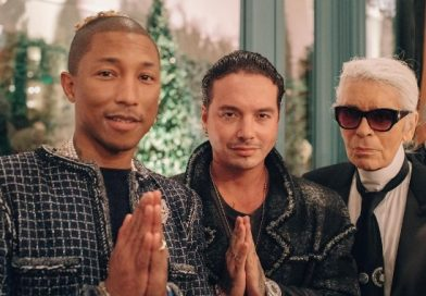 J Balvin junto a Pharell Williams y Karl Lagerfeld, ¿vendrá algún proyecto con Channel?