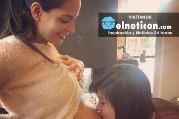 Laura Acuña está feliz con su hija, mira la primera foto de Helena