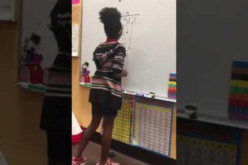 ¡Matemáticas + música + baile! Así sí que es divertido aprender. ¿Por qué a mis profesores nunca se les ocurrió?