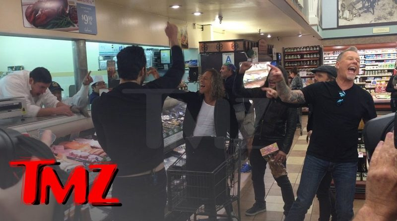 Metallica-Rocks-Out-In-Hollywood-Grocery-Store-TMZ